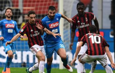 ميلان يمهد الطريق أمام يوفنتوس بتعادله مع نابولي