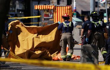 الشرطة الكندية : 9 قتلى و16 جريحا في حادثة دهس في تورونتو