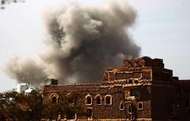 مقتل عشرات الحوثيين من بينهم قياديان في غارة على صنعاء