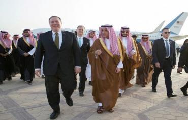 بومبيو في الرياض في اول جولة له الى الشرق الاوسط