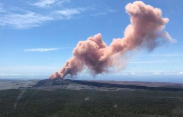 اجلاء المئات إثر ثوران بركاني في هاواي
