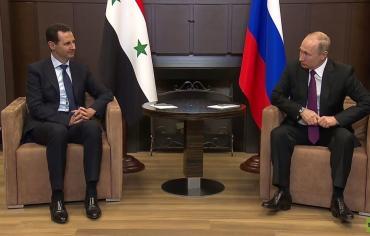 ملفات الإرهاب والعملية السياسية محور لقاء الأسد وبوتين في سوتشي