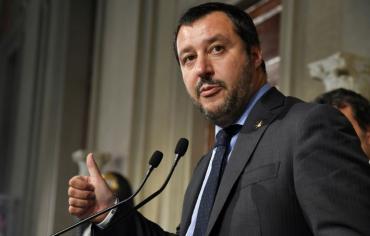 حزب الرابطة الايطالي يعلن اتفاقا على حكومة جديدة