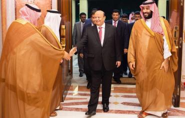 الرئيس هادي يلتقي ولي العهد السعودي