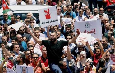 تجدد الاحتجاجات في الأردن