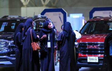 السعودية بدأت اصدار رخص قيادة سيارات للنساء