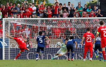 سويسرا تهزم اليابان استعدادا للمونديال