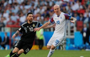 إيسلندا تفرض التعادل على الأرجنتين في مونديال روسيا