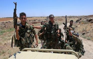 """ثماني بلدات في محافظة درعا توافق على """"مصالحة"""" مع دمشق برعاية روسية"""