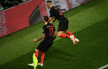 مونديال 2018: كرواتيا تلاقي فرنسا في النهائي بفوزها على انكلترا 2-1 بعد التمديد