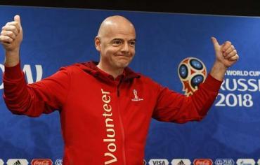 """رئيس """"الفيفا"""": مونديال روسيا الأفضل في التاريخ"""