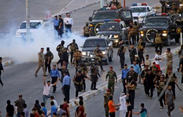 الاحتجاجات في العراق تدخل أسبوعها الثاني