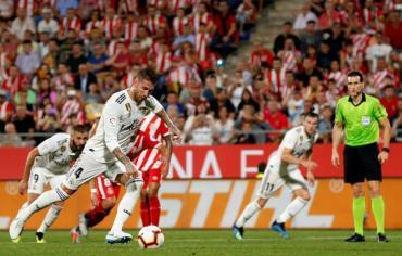 بطولة اسبانيا: ريال مدريد يحقق فوزه الثاني بركلات الجزاء