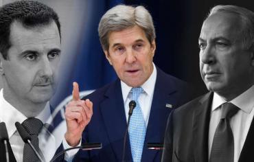 هآرتس: كيري يكشف تفاصيل رسالة الأسد السرية لنتنياهو