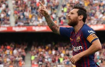 برشلونة يرد بقوة على غياب ميسي عن جائزة أفضل لاعب في العالم