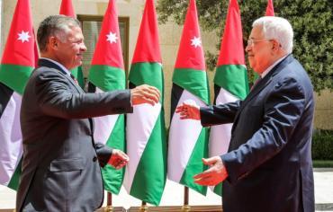 """الملك عبدالله يؤكد أن الكونفدرالية مع الفلسطينيين """"خط أحمر بالنسبة للاردن"""""""