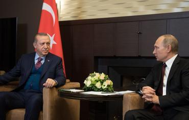 بوتين واردوغان يجريان محادثات حول إدلب