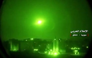 القوات السورية تتصدّى لصواريخ أطلقت من البحر باتجاه مدينة اللاذقية